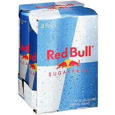 Red Bull Sugar Free Energy Drink, 12 Fl Oz , 4 pack    (W0190)