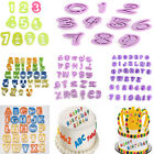 Alphabet Letter Number Fondant Cake Decorating Cookie Cutter Set Birthday Mold