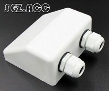 White Roof Cable Entry Gland /solar panel double cable gland box for caravan