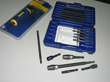 Impact Screwdriver Bit Set with 90 Adapter -  Aircraft,  Automotive, Tools