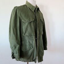 VINTAGE ORIGINAL KOREAN WAR US ARMY JACKET SHELL FIELD M-1951 M51 SZ MEDIUM