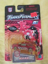 2001 Spy Changers W.A.R.S. Hasbro Transformers Robots in Disguise New & Sealed
