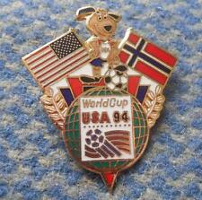 TEAM NORWAY WORLD CUP SOCCER FOOTBALL FUSSBALL USA 1994 PIN BADGE