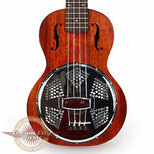 Brand New Gretsch G9112 Resonator Concert Ukulele with Gigbag Demo