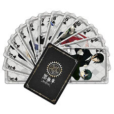 Kuroshitsuji Anime Playing Cards
