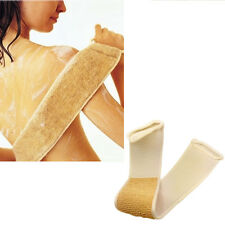 Exfoliating Loofah Back Strap Bath Shower Body Scrubber Brush Natural Sponge