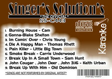 karaoke cdg*Singer's Solution*COUNTRY#443-+#444-+#445-3-Disc# Special