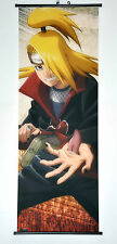 Wall Scroll Poster Fabric Painting Anime Naruto Deidara 49.2 X 17.7 inches