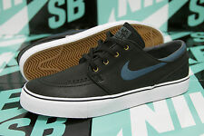 Nike SB Zoom Stefan Janoski Leather BLACK / NIGHT FACTOR 375361 007 DS SZ 11