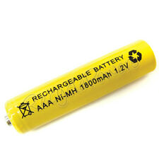 AAA LR3 R03 1800mAh Ni-MH Rechargeable Battery Yellow