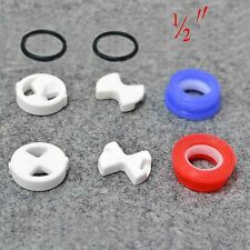 "Set of Replacement ceramic disc & silicon washer insert turn 1/2"" for valve Tap"