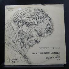 Enescu - Suita Nr. 3 Pentru Orchestra / Uvertura De Concert LP VG+ ECE 072 1st