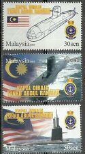 Submarine Ship Navy Vehicle Transport Malaysia 2009 (stamp) MNH