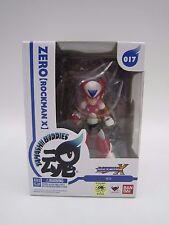 Game Mega Man MegaMan Rockman X Tamashii Buddies 017 ZERO Figure Bandai Japan