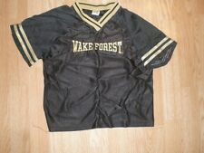 Youth Wake Forest Demon Deacons M (8/10) Little King Warmup Jersey