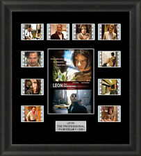 LEON THE PROFESSIONAL MOUNTED FRAMED 35MM FILM CELL MEMORABILIA FILM CELLS