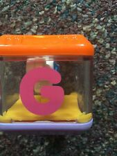 "Fisher Price Replacement Peek A Boo Alphabet Block Letter ""G"" Guitar GUC"