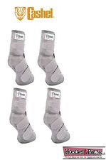 Cashel Crusader SET OF FOUR LEG GUARDS Cool Mesh Boots Fly Control Fits DRAFT