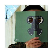MollaSpace Peeping Notebook, GAS MASK 5.8 X 8.3 inches disguise yourself book
