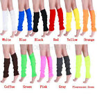 Ladies Womens Party Legwarmers Knitted Neon Dance 80s Costume 1980s Leg Warmers