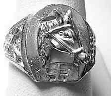 LOOK Good luck Horse shoe Ring Jewelry Sterling Silver Lucky