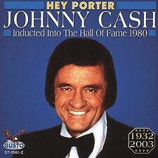 CASH johnny HEY PORTER hall of fame COUNTRY FOLK new cd