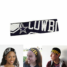 New NFL Dallas Cowboys Fanband Jersey Headband Head-Band by Little Earth
