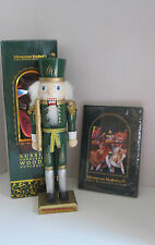 "Moscow Ballet's Great Russian Handcrafted Wooden 12"" Nutcracker and DVD 2014"