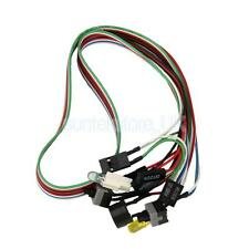 PC Comnputer Replacement Parts Power Cable ON/OFF Switch Reset Button