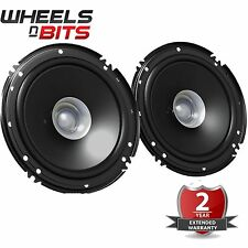 "JVC CS-J610X 6.5"" 17 cm 600 Watts a Pair Dual Cone Coaxial Car Van Door Speakers"