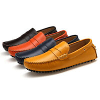 NEW Mens Slip On Smart Boat Deck Moccasins Loafers Driving Casual Shoes Uk Size