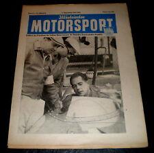 Illustrierter Motorsport 17/55 Speedway,ADAC-500-KM-Sportwagenrennen,Hessenfahrt