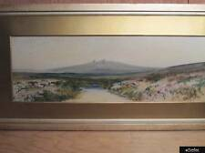 Vintage Watercolour Of A Dartmoor Scene By Rubens Southey 1881-1933