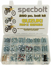 250pc Bolt Kit Suzuki RMZ250 RMZ450 RM-Z 250 RMX 450 plastics engine fenders