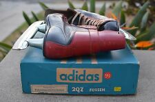 Rare adidas Füssen Ice Hockey Skates Box West Germany Adi Dassler 9.5 Fussen VTG