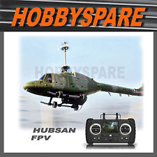 NEW HUBSAN LYNX FPV LIVE VIEW MONITOR SPY CAMERA 4CH COAXIAL HELICOPTER 2.4G RTF