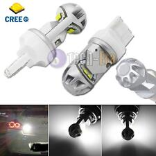 2 Super Bright High Power 20W 7440 7444 T20 CREE LED Reverse Back up Light Bulbs