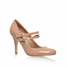 "KURT GEIGER ""KELLY"" PEACH PATENT LEATHER PUMPS SHOES - FINAL SALE"