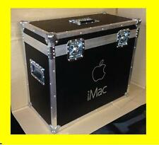 "Apple iMac 27"" Flight Case Trasporto Box Flightcase Custodia Cover Baule"