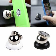 Universal Magnetic In Car Mount Kit Sticky Stand Holder For iPhone 6S Plus 6S 5C