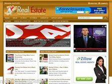 Real Estate / House / Homes For Sale Wordpress Blog Website For Sale!