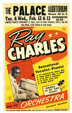 "Ray Charles Palace 16"" x 12"" Photo Repro Concert Poster"