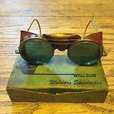 "VINTAGE WILLSON GOGGLE TYPE MW50 ""WELDOR'S SPECTACLES"" IN THE ORIGINAL BOX"
