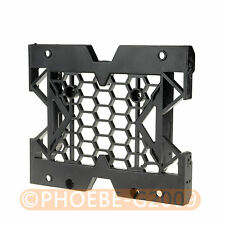 "5.25"" to 3.5"" 2.5"" SSD Hard Drive Adapter TRAY with Screws can mount Fan"