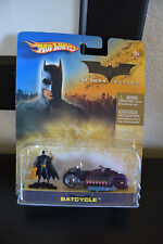Hot Wheels Batman Begins Batcycle