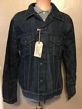 New $245 Polo Ralph Lauren Denim Supply Grenville Trucker Jean Jacket XXL 2X