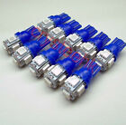 10 x T10 194,168,2825, 5 x 5050 SMD LED Blue Super Bright Car Lights Lamp Bulb