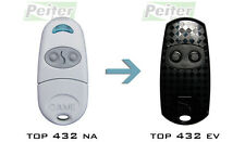 2 channel Came TOP 432 EV remote control - a replacement of TOP 432 NA