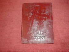 1950 Webster Groves High School Yearbook, Webster Groves, Missouri, The Echo