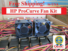 2x Quiet Replacement fans for EFB0412MD on HP ProCurve 2626 2650 2724
